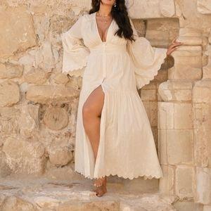 Fashion to figure La'tecia Thomas maxi dress